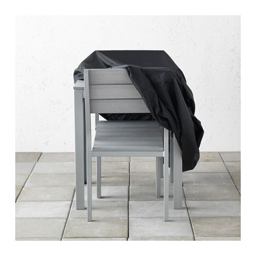 Tostero Housse Mobilier Exterieur Noir 100x70 Cm Mobilier Exterieur Ikea Table Et Chaises De Jardin