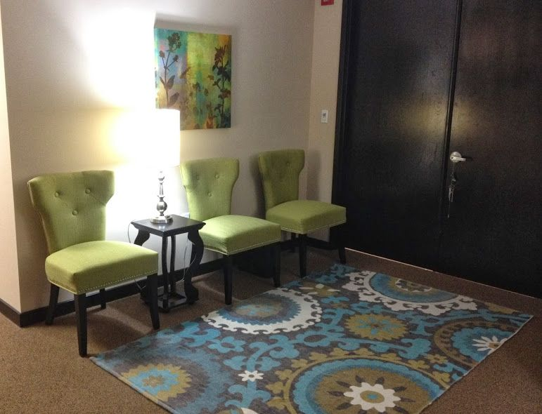 Boca Raton Psychologist Office Waiting Room