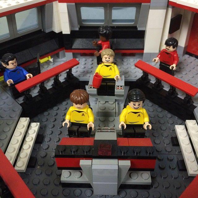 Star Trek Bridge Crew Lego Startrek Lego Stuff Rules Lego