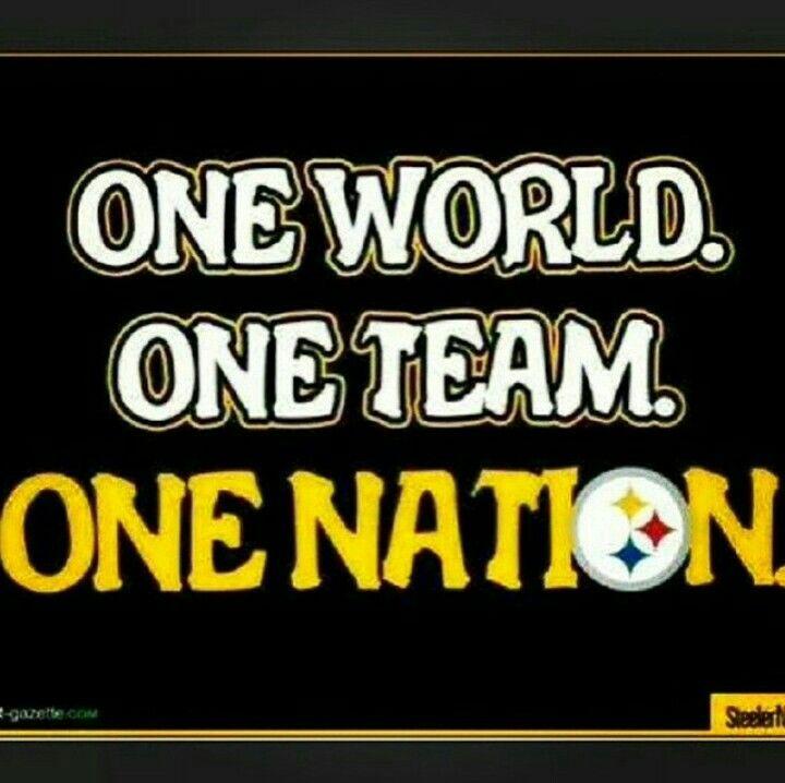 One Team, Steeler Nation, Steelers Pics