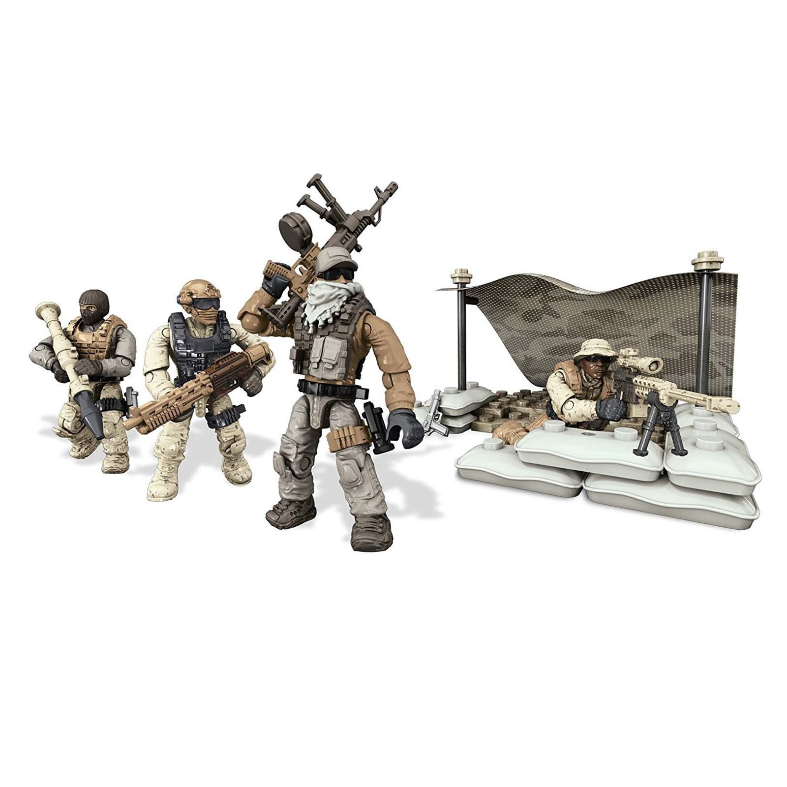 CALL OF DUTY Mega Bloks ARCTIC SOLDIERS Military Lego-type Building Set Age 10+