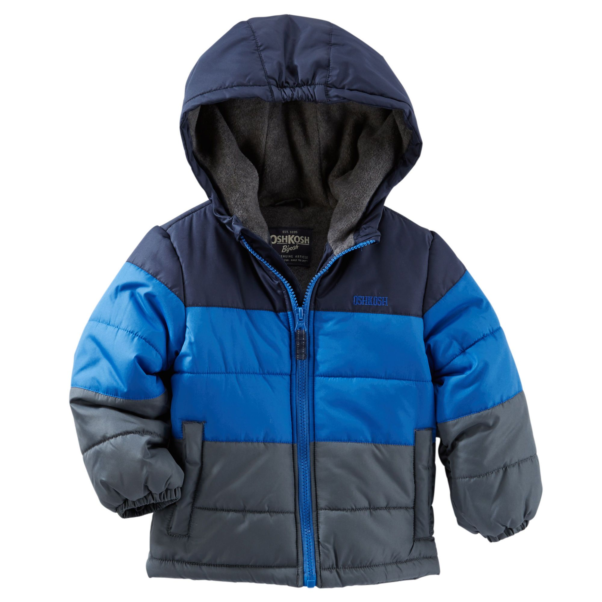 5e710582f Kid Boy OshKosh Colorblock Heavyweight Jacket