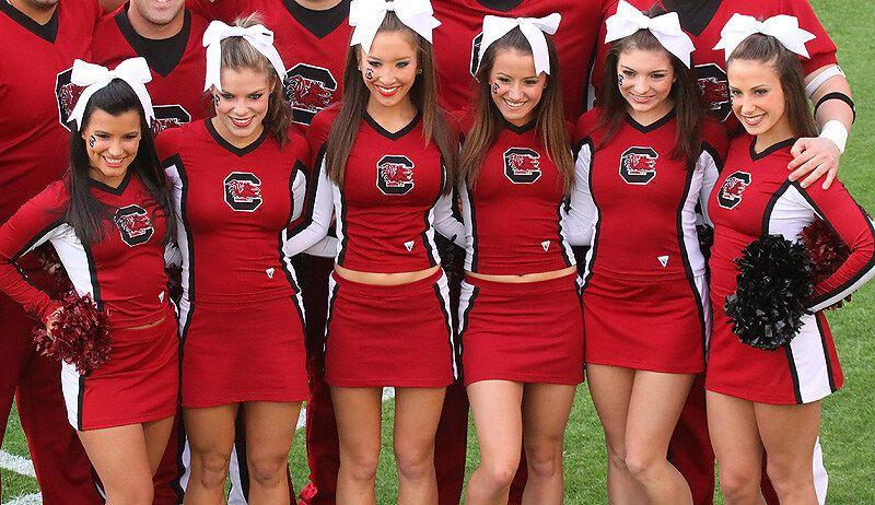 Cheerleaders, University of South Carolina, Columbia