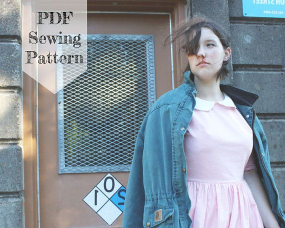 Eleven Dress PDF Sewing Pattern Stranger Things Halloween | Stranger ...