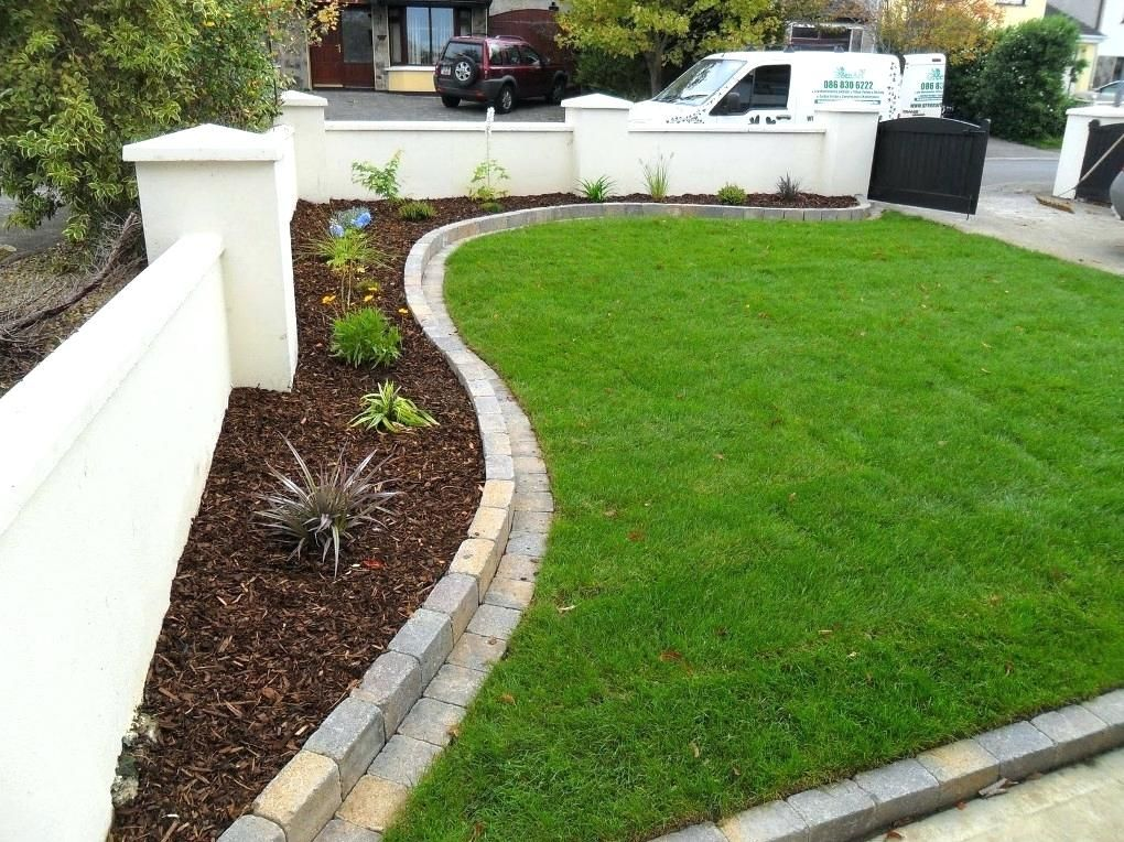 White Cheap House Gardens Solutions Lawns Landscape Edging 640 x 480