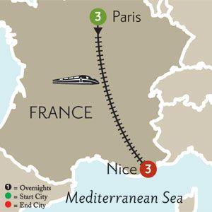 Paris Vacation Travel Packages Monograms Monogramsvacation - Paris to nice