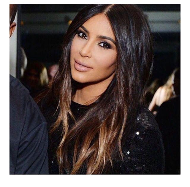 Ombr 233 Kim Kardashian Balayage Hair Hair Color Ombre Hair