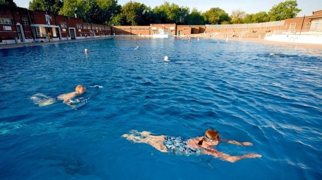 Parliament Hill Lido Outdoor, Pool liners, Best swimming