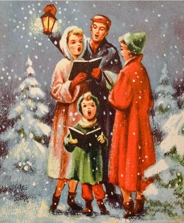 Vintage Christmas Cards, Vintage