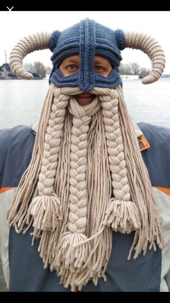 Interesting Viking hat for Dirt McGirt | Knitting | Pinterest ...