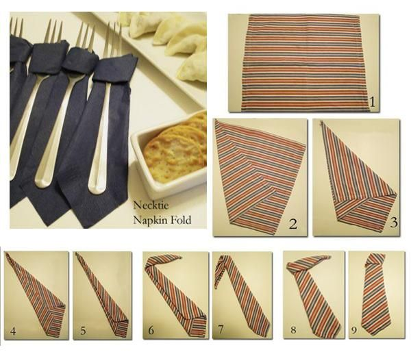 How To Make Table Napkin Designs make your table beautiful with your newly acquired napkin folding skills Creative And Simple Fathers Day Ideas For Party Table Will Help Brighten Up Your Dining Room Folding Napkinspaper