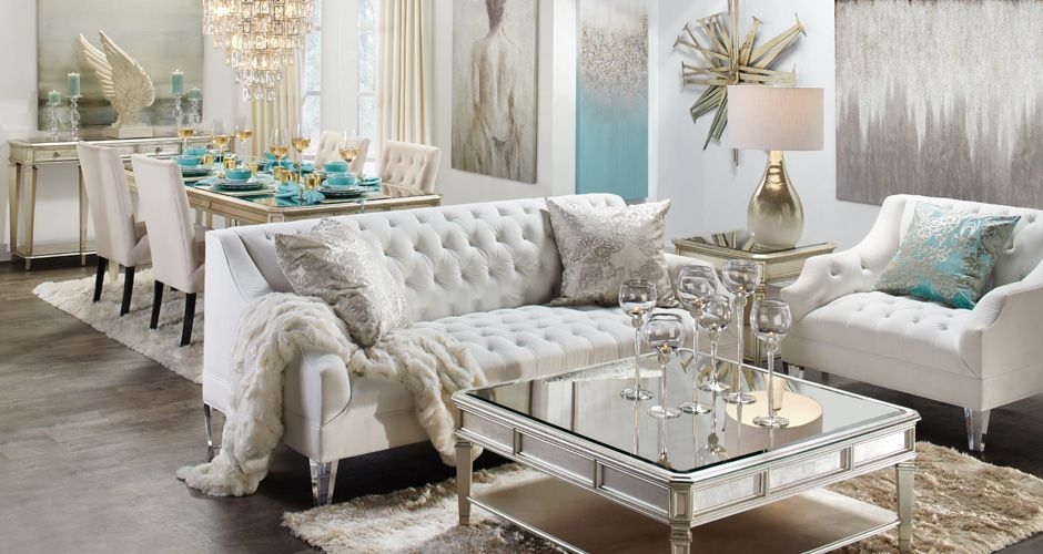 Inspired By This Look On Zgallerie From Z Gallerie Glamour Living Room Glamorous Living Room Living Room Inspiration