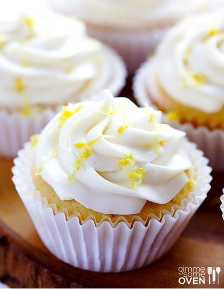Honey Lemon Cupcakes | #cupcakes #Honey #Lemon