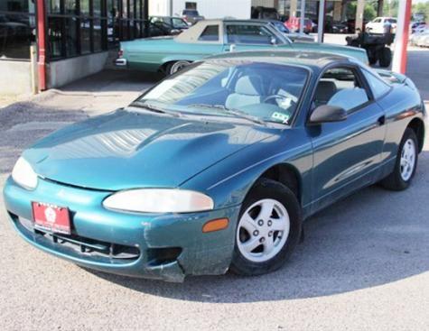 1 499 1996 Mitsubishi Eclipse Rs Near Dallas Tx Mitsubishi Eclipse Cheap Cars For Sale Mitsubishi