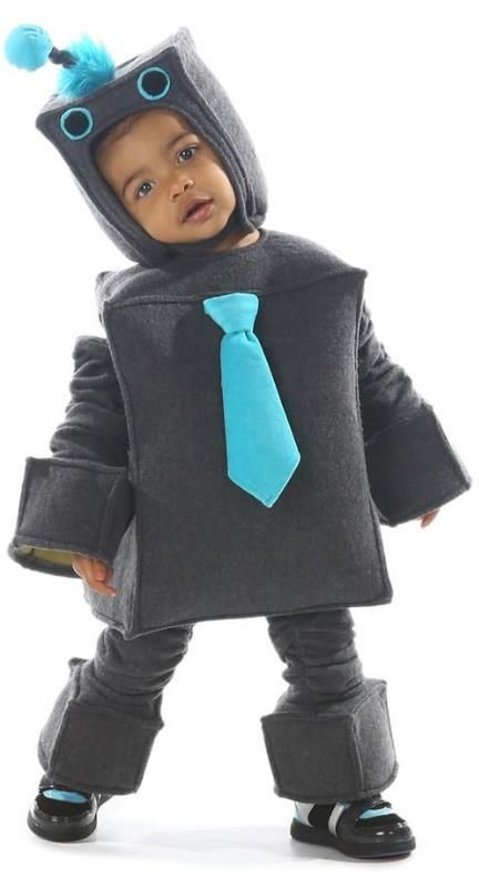 adorable 39 roscoe the robot 39 costume baby fasching pinterest kost m halloween kost m. Black Bedroom Furniture Sets. Home Design Ideas