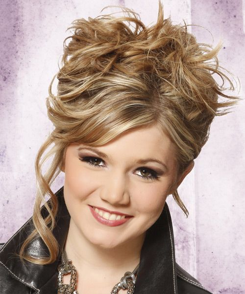 Updo Long Curly Casual Hairstyle « Easy to Hairstyles 2014 ...