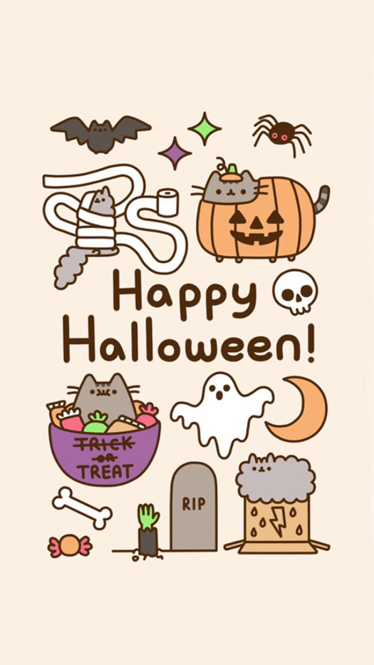 Happy Halloween Wallpaper For Iphone And Android Halloween Wallpaper Cute Halloween Drawings Halloween Wallpaper Iphone