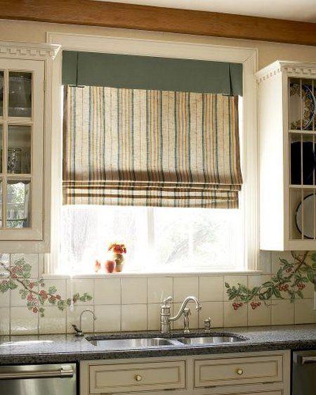 Windows Look Fabulous With Roman Shades Windows And Doors Pinterest