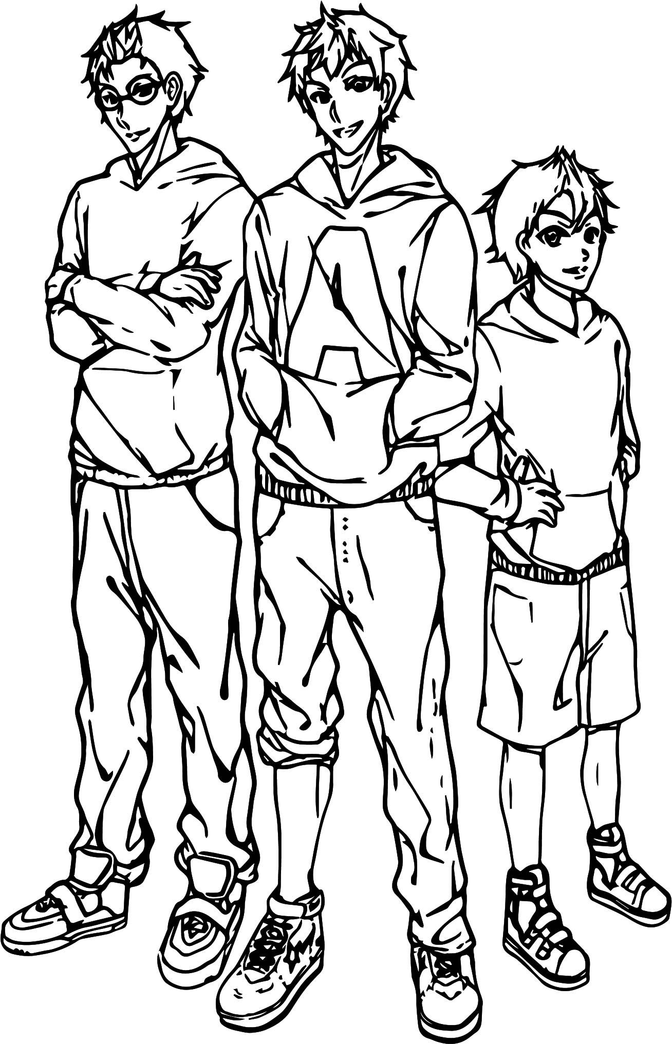 Awesome Alvin And Chipmunks Basketball Team Coloring Page Basketball Teams Sports Coloring Pages Football Coloring Pages