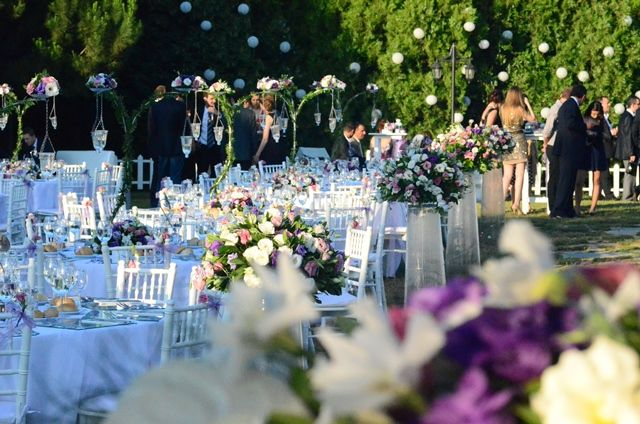 Urza Istanbul Outdoor Wedding Venue