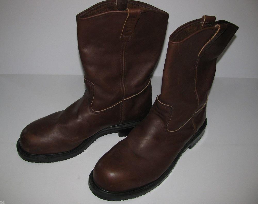 high fashion low price look out for Red Wing Boots Steel Toe Size 16D Great Condition Pecos Slip ...