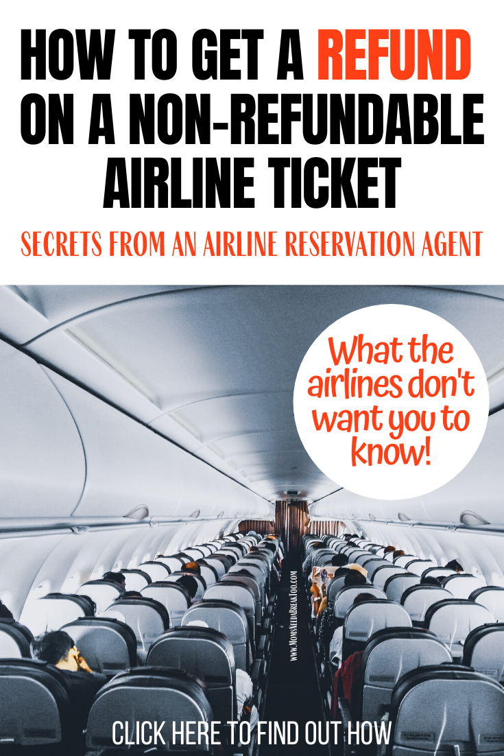 I have been a reservation rep for a major airline for over 8 years now. I've seen so many passengers in situations where they no longer want to travel and want to obtain a refund on a non-refundable plane ticket. Are you looking to get a refund or make a voluntary change (without being penalized)? You've come to the right place! . . . I'm giving away all the secrets the airlines don't want you to know! #airlinetickets #flightdeals #traveltips #traveltipsandtricks #travelhacks #planetickets