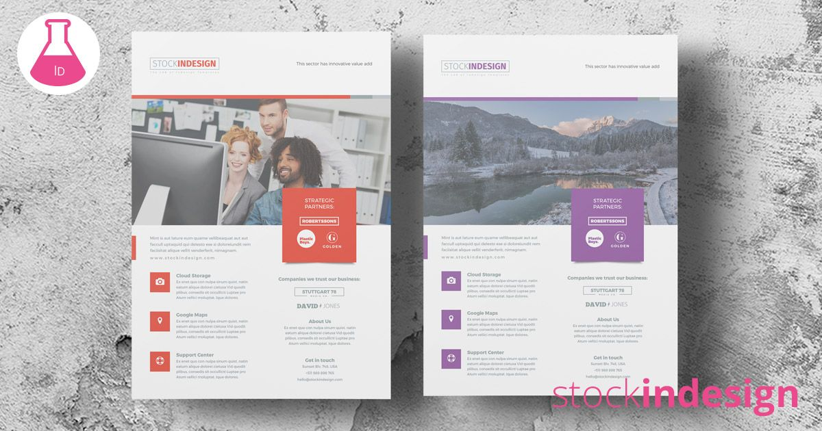 Download Free Corporate Flyer Template And Edit In A Simple Way
