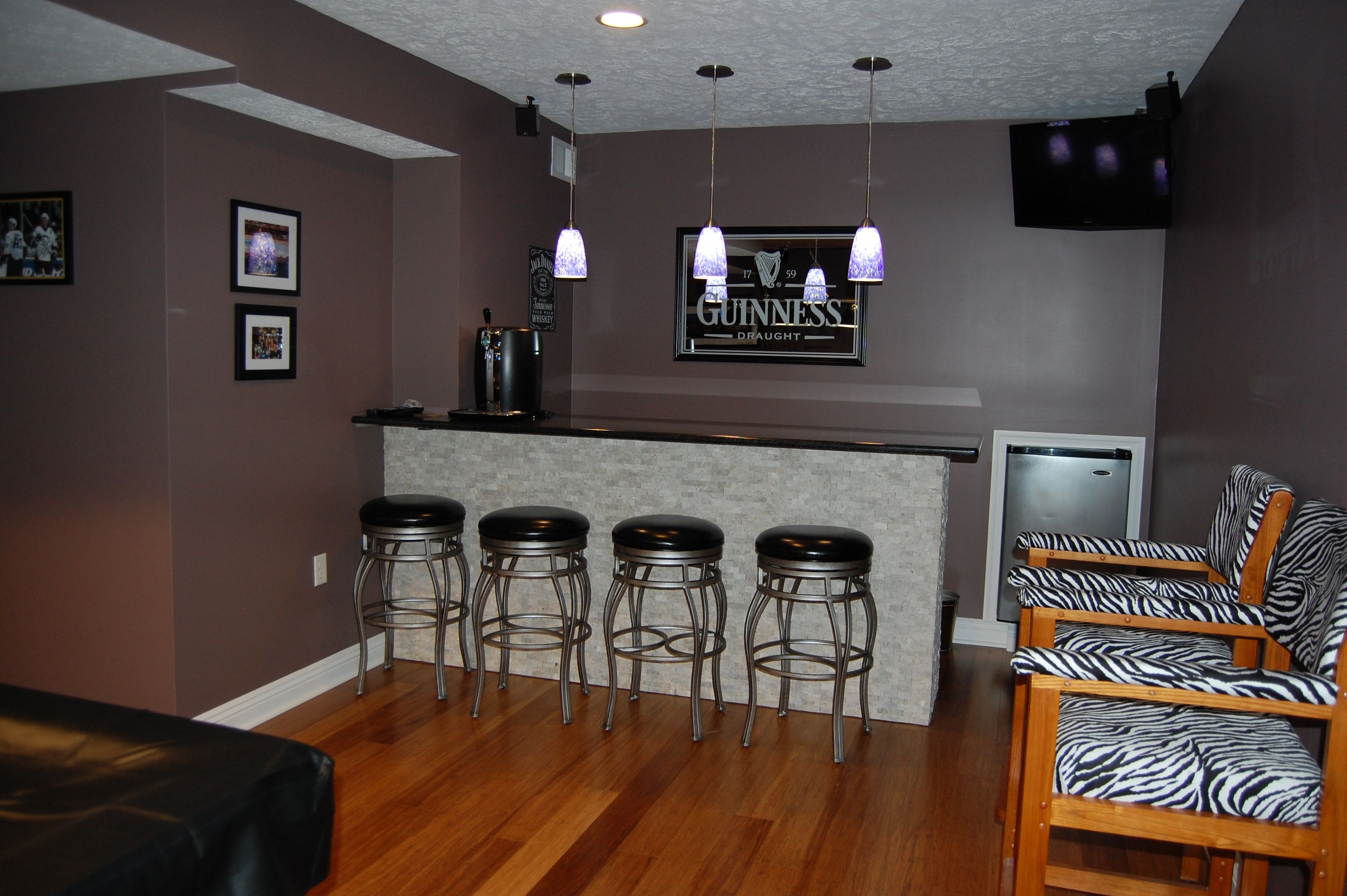 Our new sports bar gameroom remodel home projects i 39 d for New bar ideas