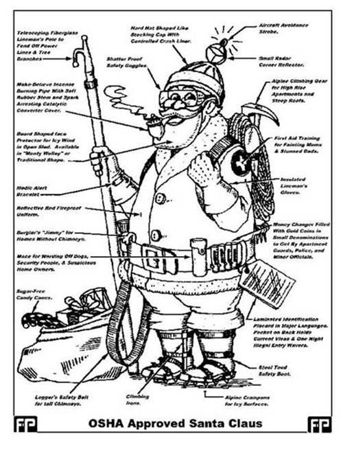 OSHA Cowboy, OSHA Bullrider, OSHA Santa, OSHA Streaker