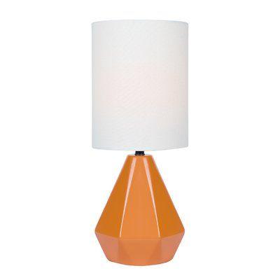 Wrought Studio Padang Sidempuan 17 Table Lamp Base Color Orange