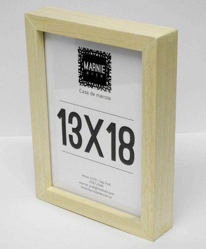Portarretrato 13x18 Tipo Box Natural