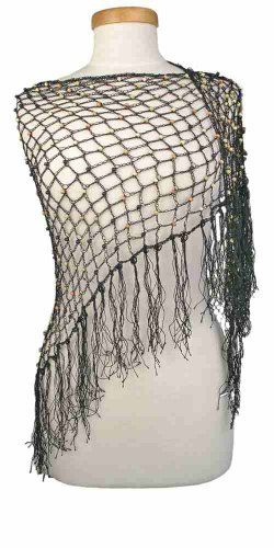 Capelli New York Crochet Triangle Wrap With Beads Black Combo Capelli New York http://www.amazon.com/dp/B00GSYVYTI/ref=cm_sw_r_pi_dp_LoeKvb04KE2HE