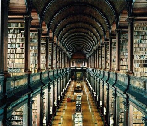 Trinity Library – Dublin, Ireland