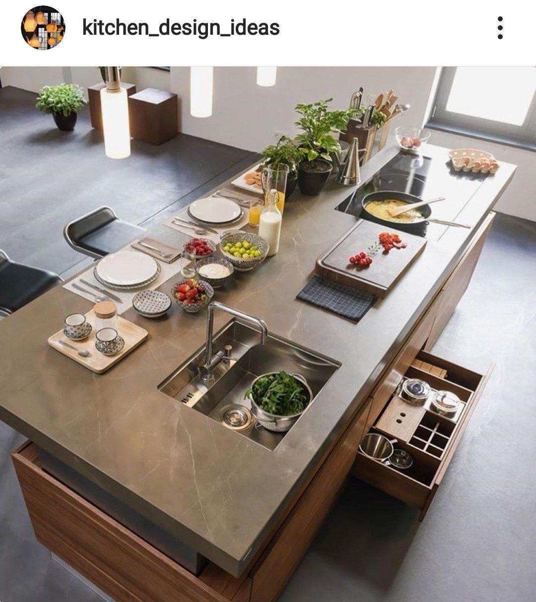 Pin Auf Kitchen Interior Design Modern
