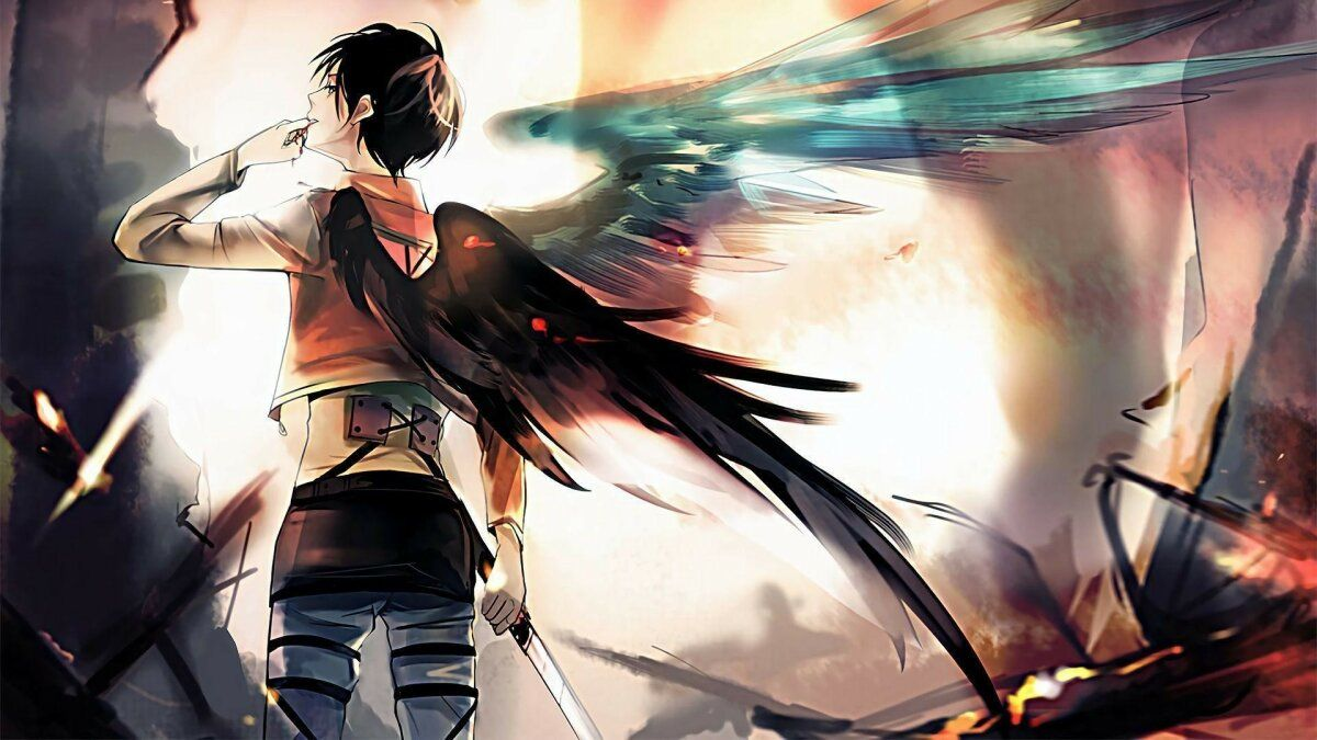 خلفيات عالية الوضوح Anime أنيمي Eren Yeager ياباني 12 In 2020 Anime Anime Wallpaper Anime Wallpaper Download