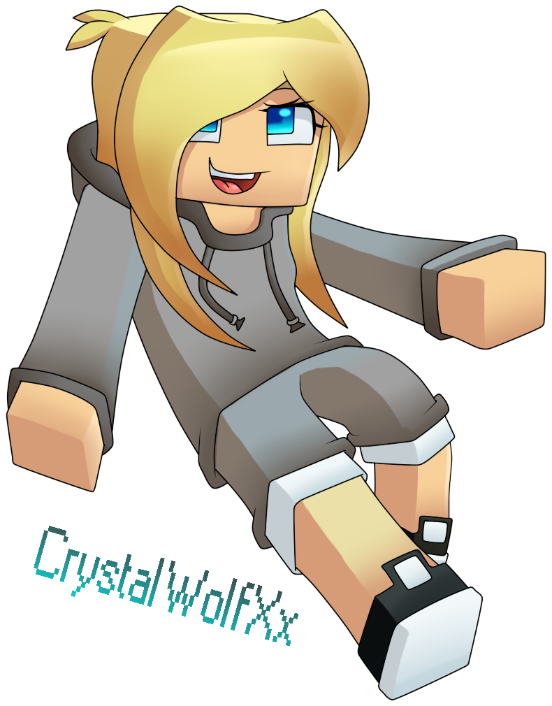 Commission CrystalWolfXx by on