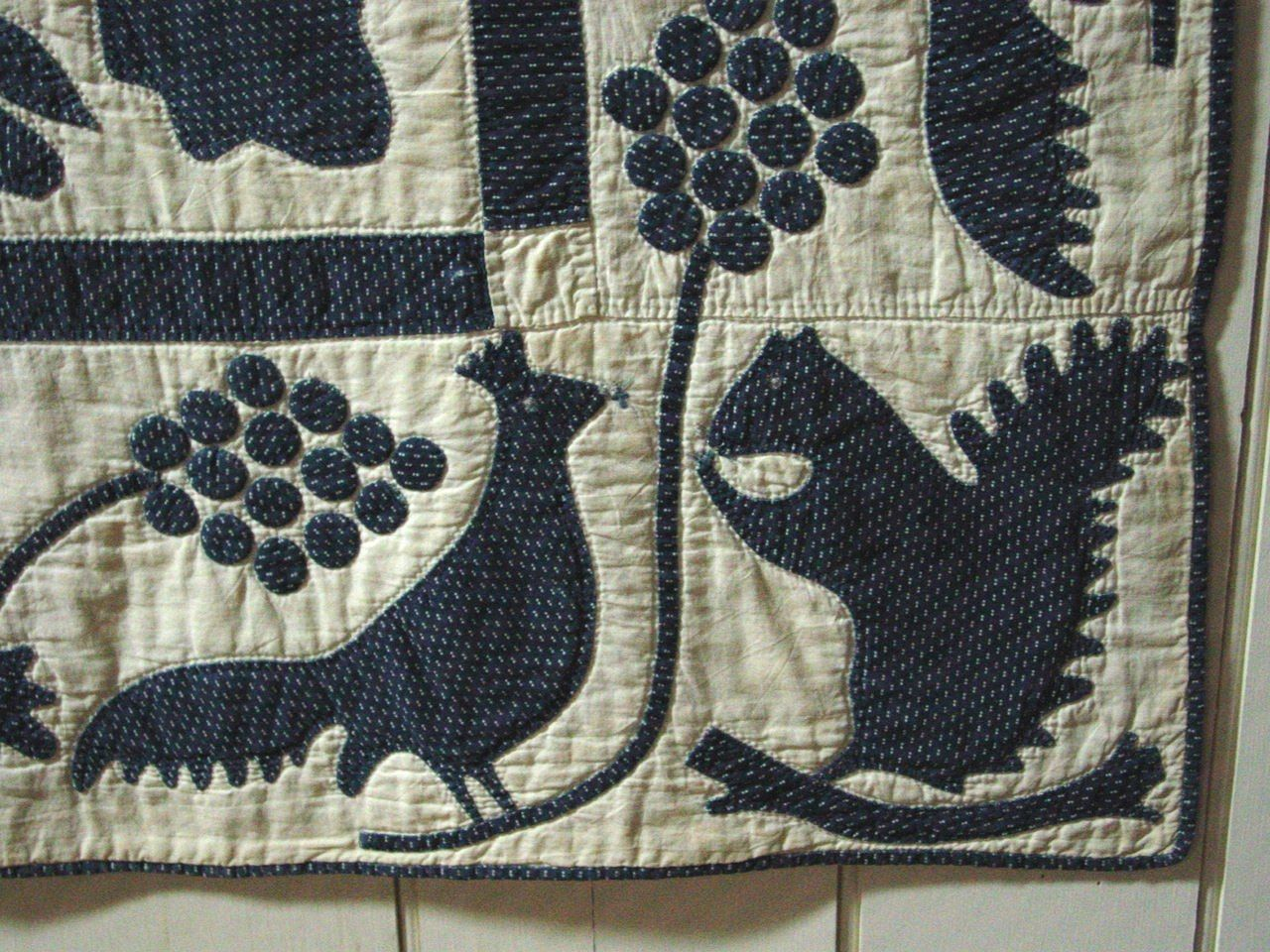 Appliqu 233 Quilt Oak Leaf And Reel Pattern Sold Olde