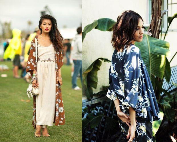 DIY kimono   pretty ways to style it! | Kimonos, Kimono tutorial ...