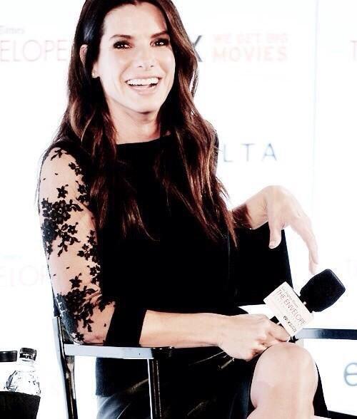 Sandra Bullock has such a lovely smile