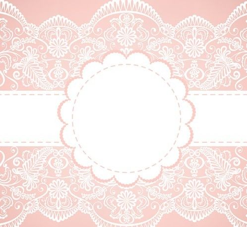 Vector Old Lace Background 01 Arabescos Para Convites Vetores