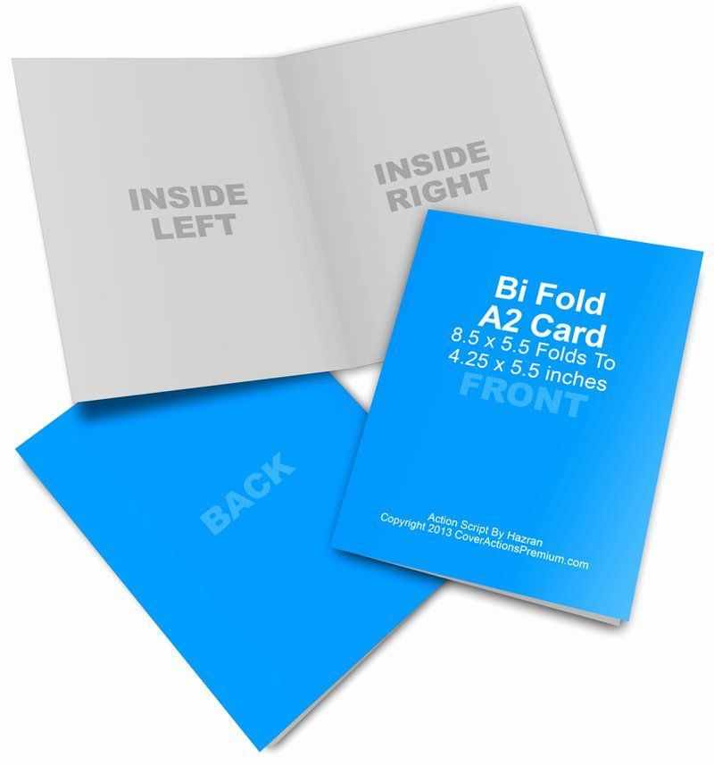 Bi Fold Card Template Elegant A2 Bi Fold Card Mockup Cover Actions Premium Card Template Greeting Card Template Online Cards