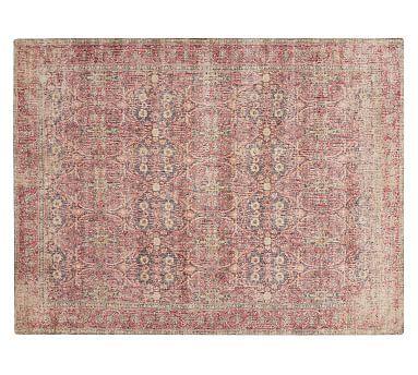 Julianne Printed Rug, 9 x 12\', Warm Multi   Living rooms, Room and ...