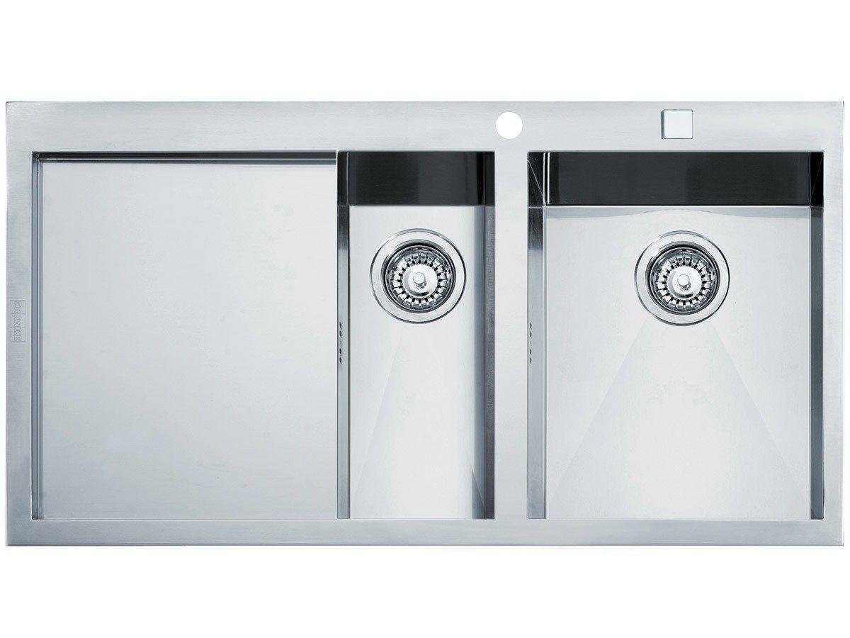 Franke Planar PPX 251 Edelstahl Küchenspüle Spülbecken Spültisch ... | {Spülbecken rund edelstahl matt 40}