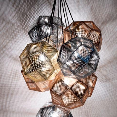 Tom Dixon - Etch pendel rustfri stål