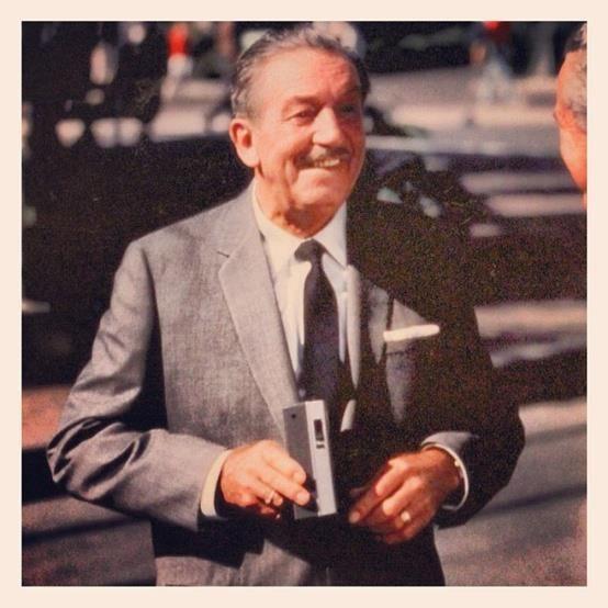 Walt Disney promoting Kodak at Disneyland in August 1966. He passed away a few months later... on December 15, 1966