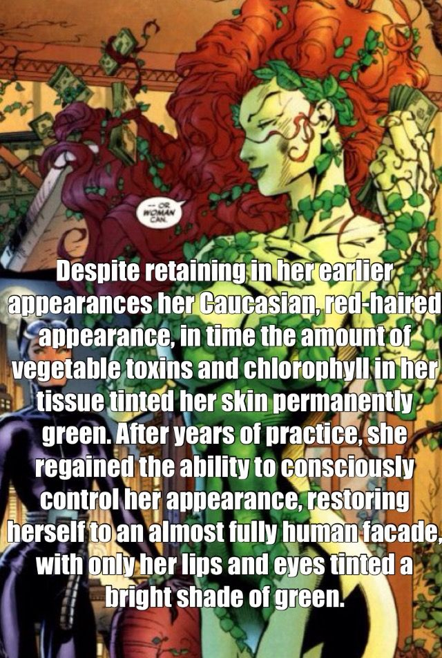 Poison Ivy Facts D C Comics My Geeky Nerdy Life