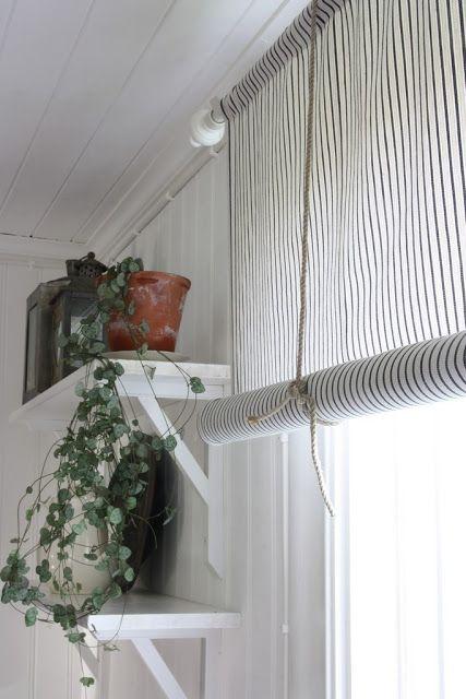 Nordingarden Kok Living Room Blinds Tie Up Curtains Home Decor