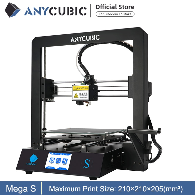 Anycubic Mega S 3d Printer I3 Mega Upgrade Large Size Metal Frame Tpu High Precision Touch Screen Diy 3d Printer Kit Impressora Alsupersales 3d Printer Kit 3d Printer Printer