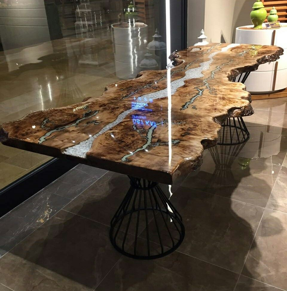 epoxy table epoxy furniture pinterest epoxy tables and woods. Black Bedroom Furniture Sets. Home Design Ideas