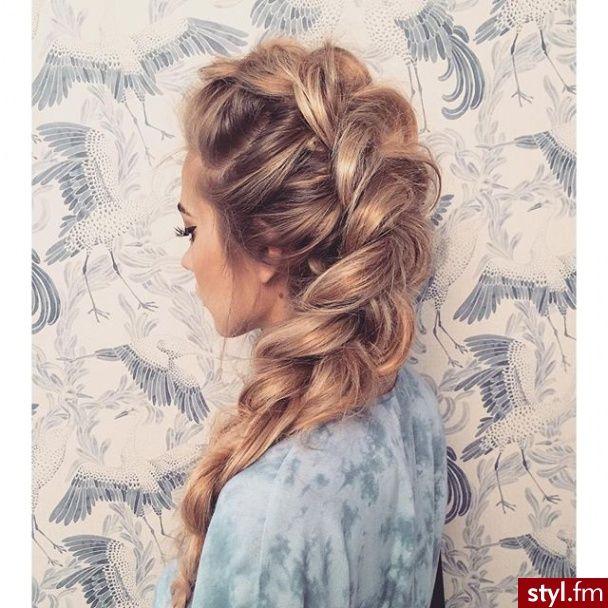 Blond Warkocze Proste Na Co Dzień Długie Fryzury Style